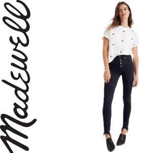 "Madewell 9"" Mid-Rise Skinny Jeans in Berkeley"